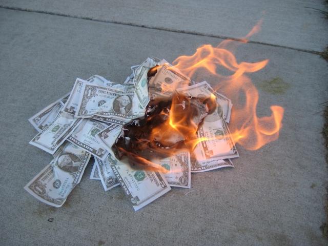 dolares fuego