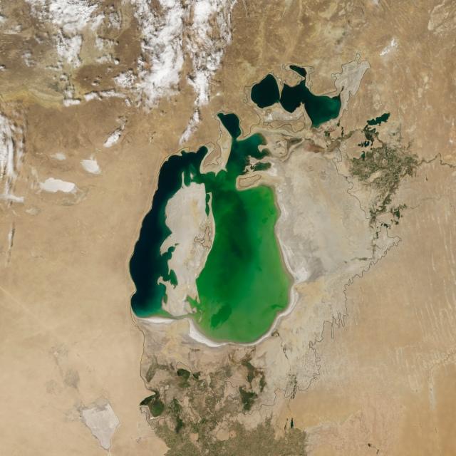 mar de aral 2010