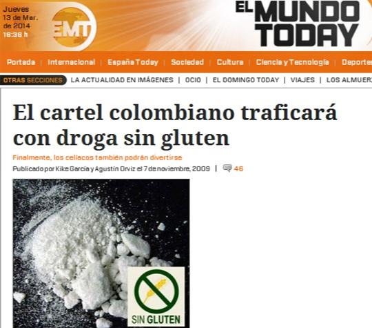 cocaína sin gluten