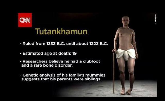 Tutankamon.