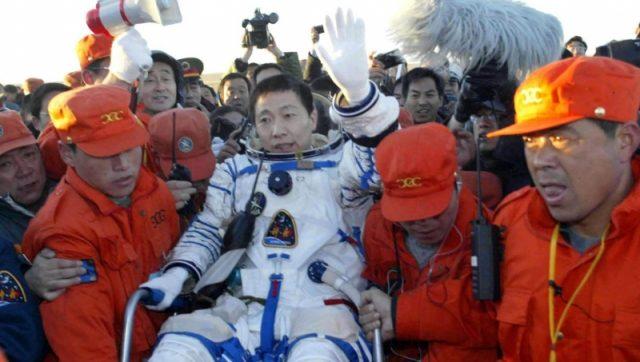 astronautas y espacio